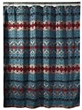 Carstens Chamarro Shower Curtain, Turquoise