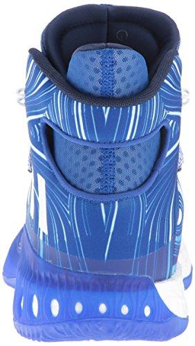 Adidas Performance Mænds Skøre Eksplosiv Basketball Sko Kollegialt Royal / Hvid / Tech Stof Stål tbI5QHyW