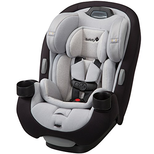 Safety 1st Grow and Go EX Air 3-in-1 Convertible Car Seat, Black Bird