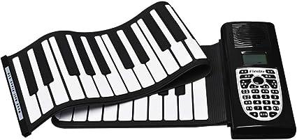 JFMBJS Teclado Enrollable para Piano, para Niños Educativos ...