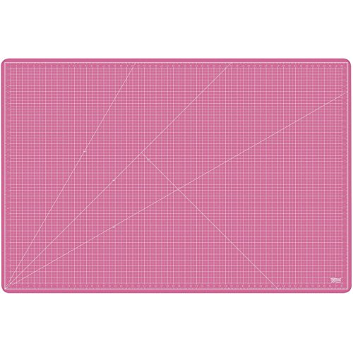 US Art Supply 40'' x 60'' PINK/BLUE Professional Self Healing 5-Ply Double Sided Durable Non-Slip PVC Cutting Mat Great for Scrapbooking, Quilting, Sewing and all Arts & Crafts Projects (Choose Green/Black or Pink/Blue Below) by US Art Supply