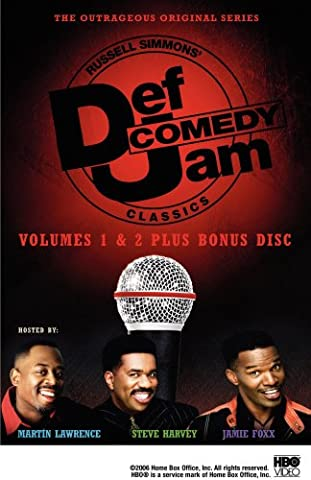 Def Comedy Jam Classics, Vols. 1 and 2 (The Steve Harvey Show Dvd)