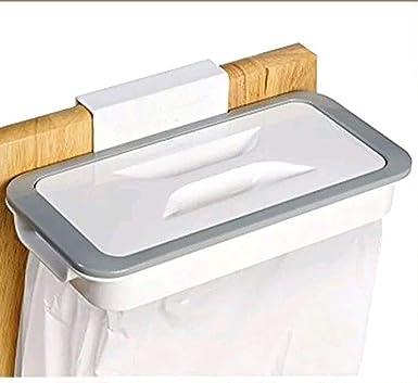 Tekshopping - Soporte para bolsas de residuo - Gancho para cajones, puertas de muebles para recogida selectiva de residuos