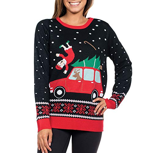 Clearance Forthery Christmas Sweater, Women Reindeer Ugly Snowflakes