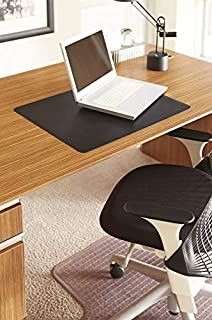 ES Robbins Natural Origins Rectangle BioBased Vinyl Desk Pad, 12 by 19-Inch, Black (B00HYNXNSW) | Amazon price tracker / tracking, Amazon price history charts, Amazon price watches, Amazon price drop alerts