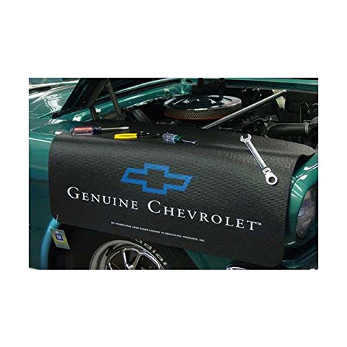 Eckler's Premier Quality Products 55-311827 Fender Cover, Black, Gripper, Genuine Chevrolet Logo