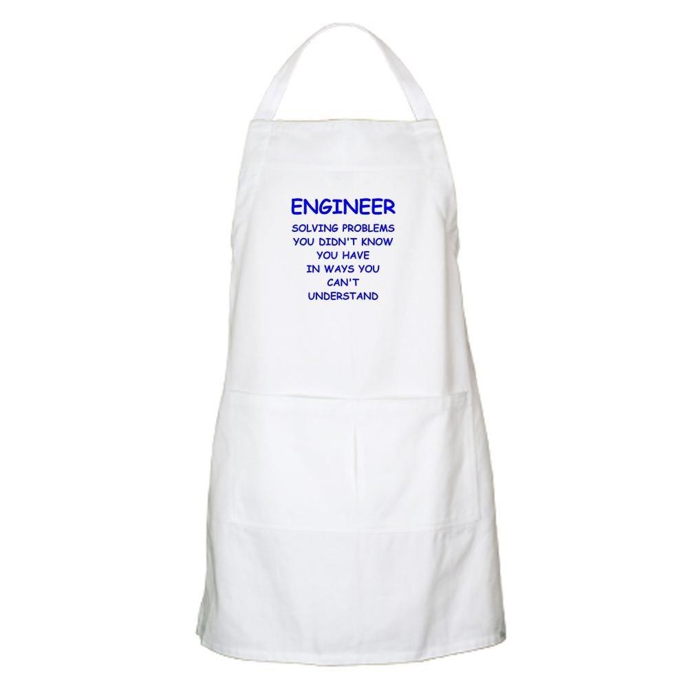 Amazon.com: CafePress - ENGINEER Apron - Kitchen Apron with Pockets ...