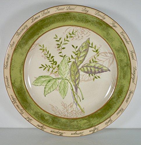 (American Atelier Bouquet Garni Salad Plate Sage Fennel 8 1/4