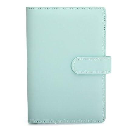 CXYBJB Cuaderno Cuaderno De Hojas Sueltas De Cuero ...