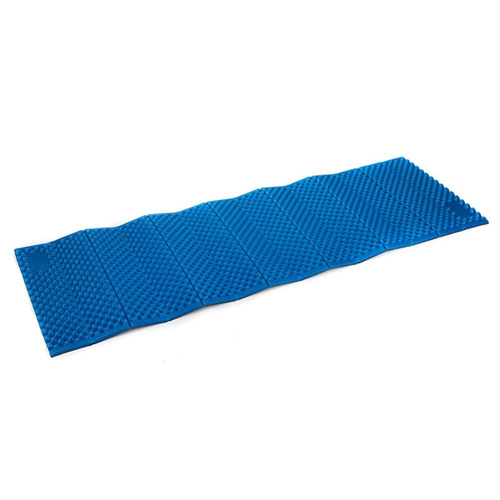 Gefaltete Aluminiumfolie Feuchtigkeitsdichten Pad Ultra Light Outdoor Zelt Ei Nest Isomatte Für Camping Reisen,Blau