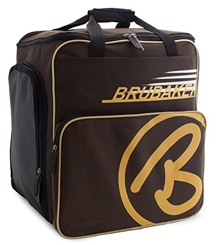 BRUBAKER Winter Sports Boot Bag Super Champion - Limited Edition - Backpack Brown Sand
