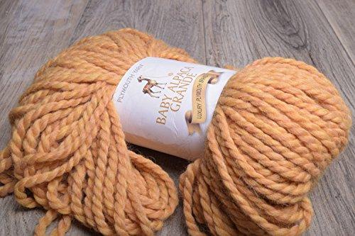 (Plymouth Baby Alpaca Grande 100 Baby Alpaca Yarn 878 Goldie)
