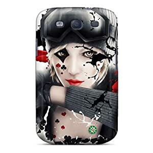 Durable Case For The Galaxy S3- Eco-friendly Retail Packaging(poker Face)