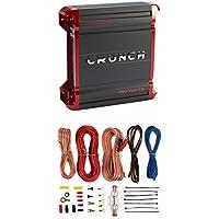 Crunch 750 Watt 2 Channel Powerzone Class A/B Car Amplifier + 8 Gauge Wiring Kit