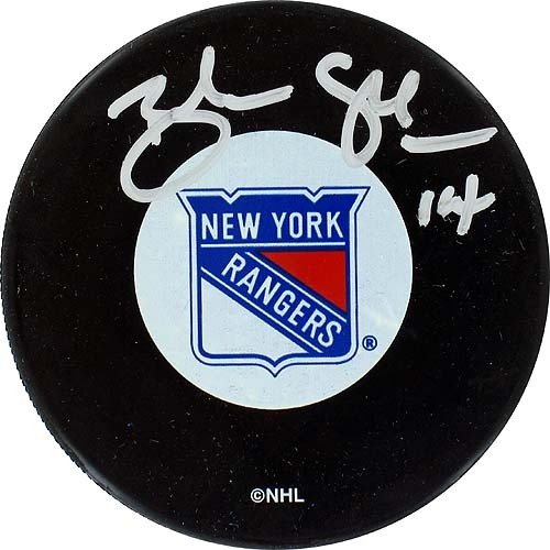 Steiner Sports NHL New York Rangers Brendan Shanahan Rangers Autograph Puck by Steiner Sports