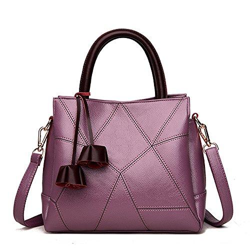 Meaeo Fashion Bolso Mom Nueva Bolsa Crossbody Nuestra Taro Purple Claret Bolso Bolsa UASOU