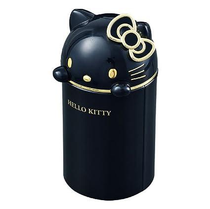 69d9060715f6 Amazon.com  Hello Kitty Automotive Mini Trash Can Car Interior Cup Holder  Black  Automotive