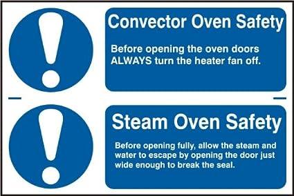 """Espectro Industrial 0453 """"convector horno horno de vapor seguridad seguridad autoadhesivo PVC, multicolor"""