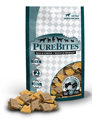 Purebites Beef & Cheese Freeze-Dried Treats For Dogs