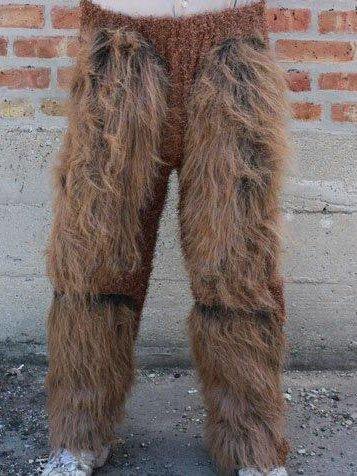 Zagone Studios Hairy Beast Legs Costume Bottoms - -