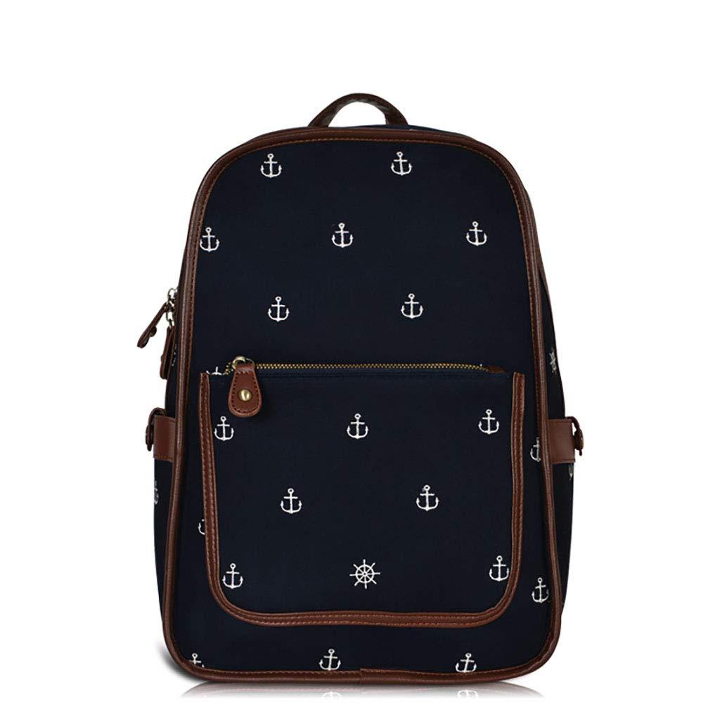 アルパインパック バックパックキャンバスのバックパックの学校のバッグ旅行のバッグヴィンテージのイギリスのスタイル26 * 14 * 40cm / 31 * 16 * 46cm (サイズ さいず : 31*16*46cm) 31*16*46cm  B07M9F9TQX