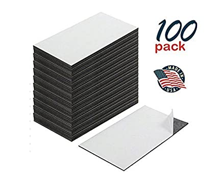 Business card magnets san antonio tx printing services la luz self adhesive business card magnets peel and stick great promotional product value pack colourmoves