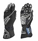 Sparco Lap RG-5 Racing Gloves 001311 (Size: 12, Black)