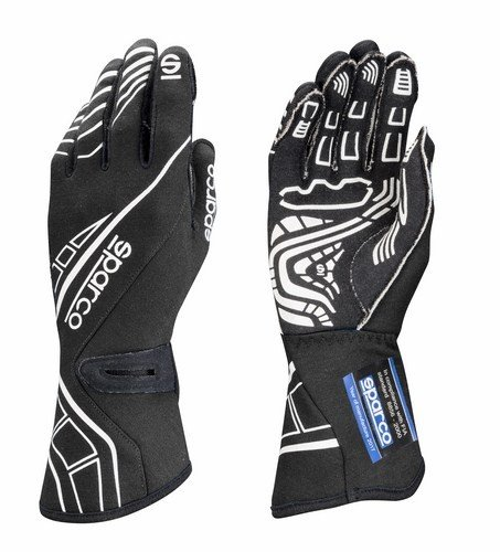 - Sparco Lap RG-5 Racing Gloves 001311 (Size: 10, Black)