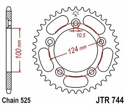 JT Sprockets JTR744.38 38T Steel Rear Sprocket 207089