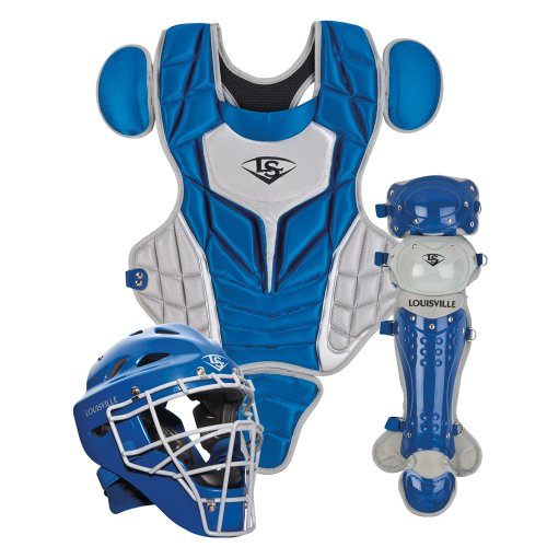 Louisville Slugger Youth PG Series 5 Catchers Set, Royal/Gray