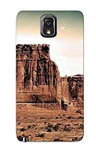 XDzDEgb851nFmBU Case Cover, Fashionable Galaxy Note 3 Case - Rocks In The Desert