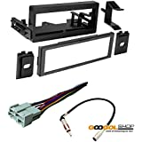 Chevrolet 1995-2002 Silverado 1500/2500/3500 CAR Stereo Dash Install MOUNTING KIT + Wire Harness + Radio Antenna