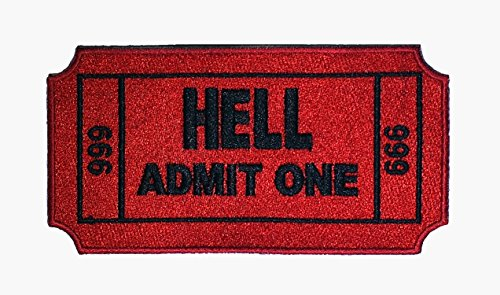 (Ticket to Hell Patch - 5 Inches Wide)