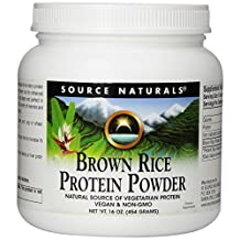 Brown Rice Protein Powder by Source Naturals - 1 lb