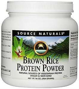 Amazon.com: Source Naturals Brown Rice Protein Powder, 16