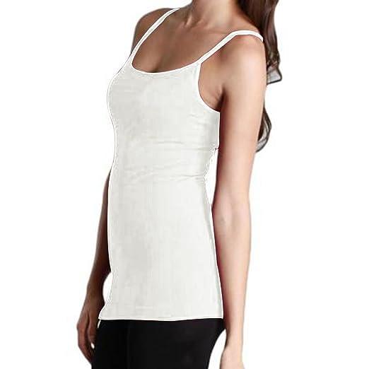 5d93342de33 J.Ann -J.Ann-Mopas Ladies Solid Color Long Camisole