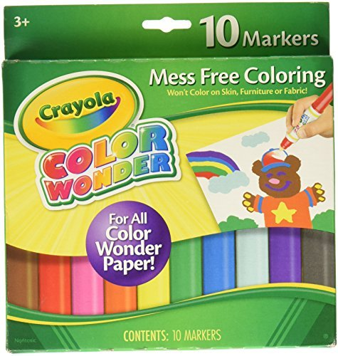 Crayola color wonder mess free fingerpaints for Crayola color wonder 30 page refill paper