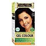 Indus Valley Organically Natural Gel Hair Color (Dark Brown 3.0)