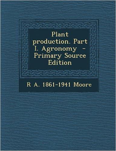 Télécharger des ebooks google books en lignePlant production. Part I. Agronomy 1287795188 PDF ePub MOBI