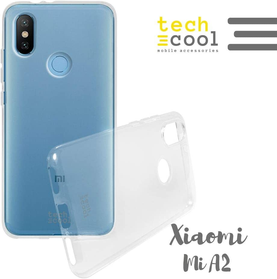 Funnytech® Funda Silicona para Xiaomi Mi A2 [Gel Silicona Flexible [Ultra Slim 1,5 mm: Amazon.es: Electrónica
