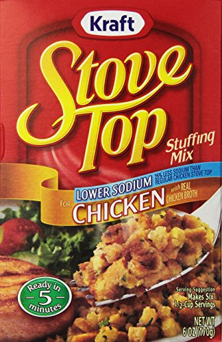 Stove Top Sodium Stuffing Chicken