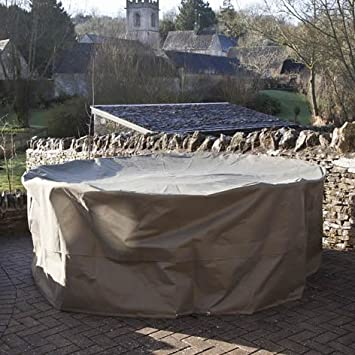 Very Garden Furniture Bramblecrest very large round garden furniture set cover khaki bramblecrest very large round garden furniture set cover khaki workwithnaturefo