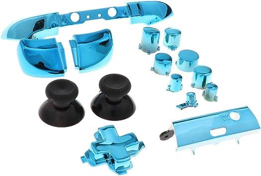 Reemplazo LB RB Bumpers Dispara Botones De Mando Para El Controlador De Xbox One S, Azul: Amazon.es: Videojuegos