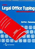 Legal Office Typing with Practical Applications, Dupree, Garland C. and Namanny, Dorothy C., 0538119705
