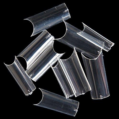 MAKARTT 500pcs Curve Acrylic Salons