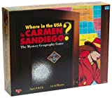 Software : Where in the USA is Carmen Sandiego? (Board Game)