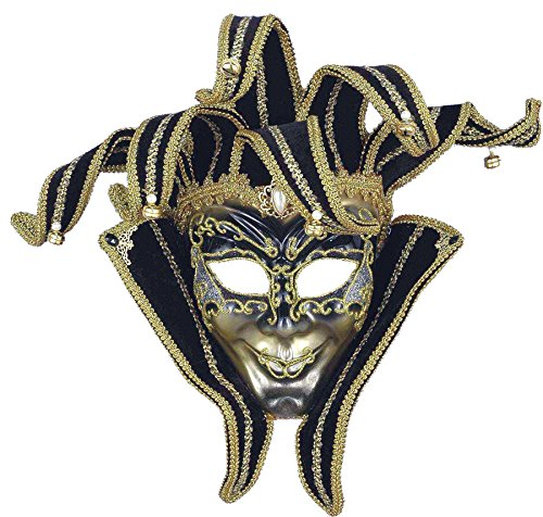 UHC Venetian Jester Renaissance Theme Party Halloween Costume Mask (Alien Princess Costume)
