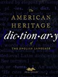 The American Heritage Dictionary of the English Language, Third Edition