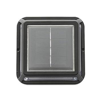 YA-Uzeun - Lámpara Solar LED para Exteriores (Resistente al ...