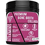 Keto Bone Broth Collagen, 15g per servings of 100% Pure All-Natural Type 1, 2 & 3 Collagen and Bone Broth Co-factors, 31 Servings of Paleo friendly Multi-Collagen Superfood, Made in USA